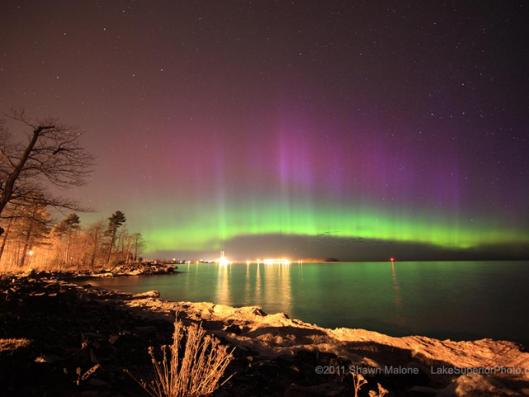 A sky watcher from Marquette, Michigan sent this picture, taken before sunrise on April 12, 2011. Image Courtesy of Shane Malone.